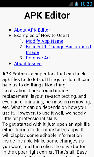 Download APK Editor for android 5 1 1