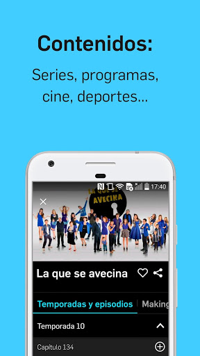 Download Mitele - Mediaset Spain VOD TV for android 7.1.2