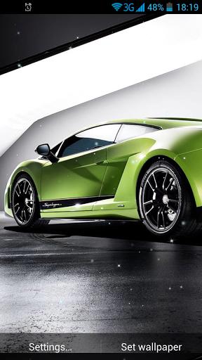 Fast Cars Live Wallpaper