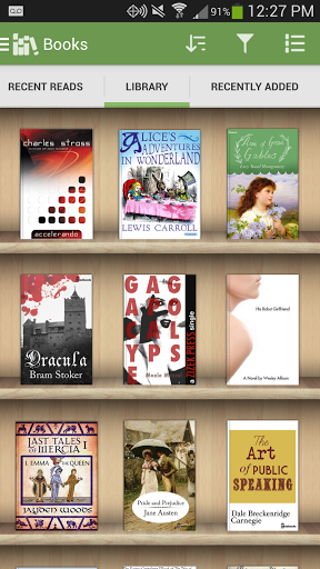 Download Aldiko Book Reader for android 4 0 3