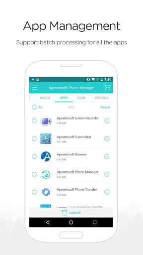 apowersoft phone manager android