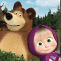 icon Masha and the Bear. Educational Games