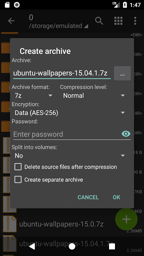 Download ZArchiver for android 7 0