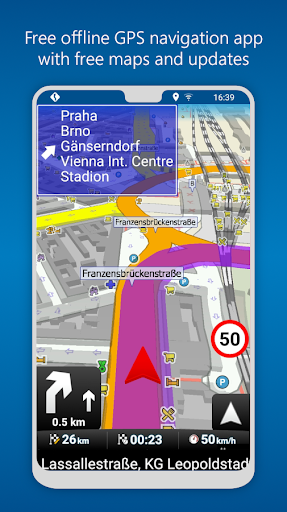 Free download MapFactor GPS Navigation Maps APK for Android
