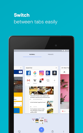Download Opera browser - latest news for android 4 4 2