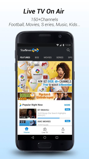 Download StarTimes - Live TV & Football for android 5 0 2