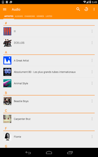 Download VLC for Android for android 2 3 6