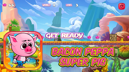 Bacon Peppa Super Pig
