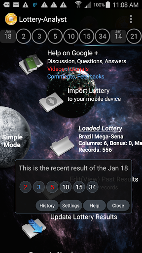 Download Lottery-Analyst Free for android 8 0