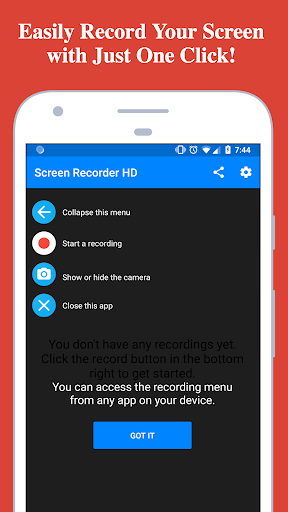 screen recorder for android 4.2.2 free download
