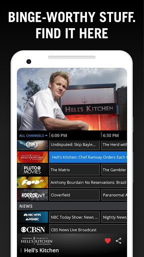 Download Pluto TV - It's Free TV for android 4 4 2