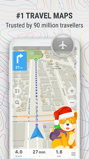 Download MAPS ME – Map & GPS Navigation for android 4 4 1