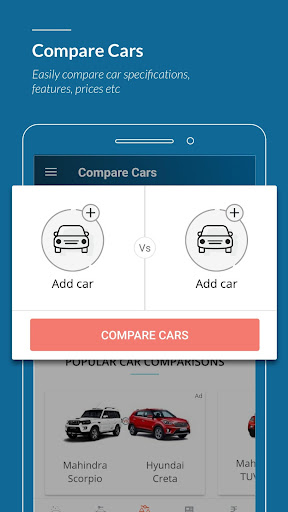 CarWale- Search New, Used Cars
