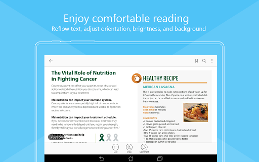 Download Foxit PDF Reader & Editor for android 4 4 2