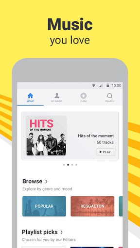 Download Deezer: Music & Song Streaming for android 4 4 2