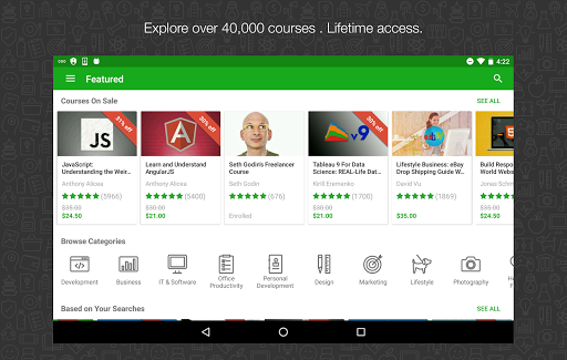 Download Udemy Online Courses for android 4 4 4