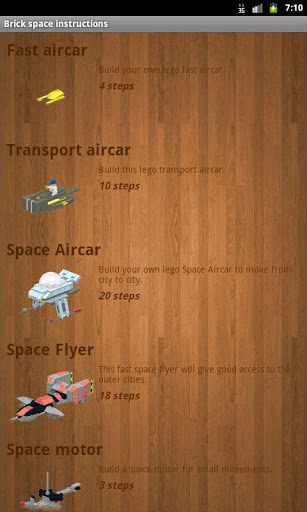 Brick space instructions