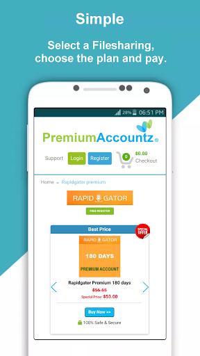 Download Premium key, Premium account for android 9.0