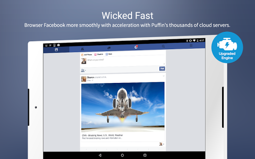 Free download Puffin for Facebook APK for Android