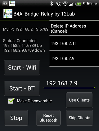 Download B4A-Bridge-Relay-Free by 12Lab for android 2 3 6