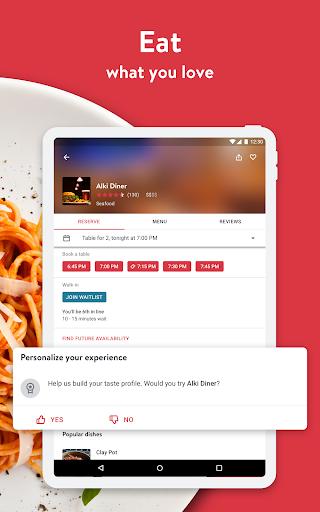 OpenTable: Restaurants Near Me