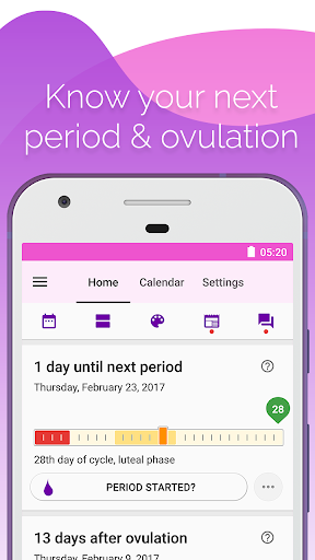 Period & Ovulation Tracker, Ovulation calculator