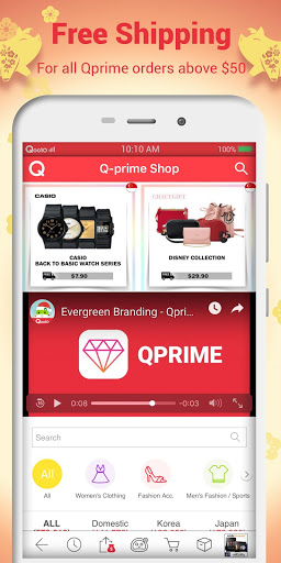 Free download Qoo10 Singapore Shopping App APK for Android
