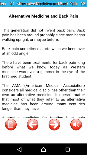 Back Pain & How To Prevent It