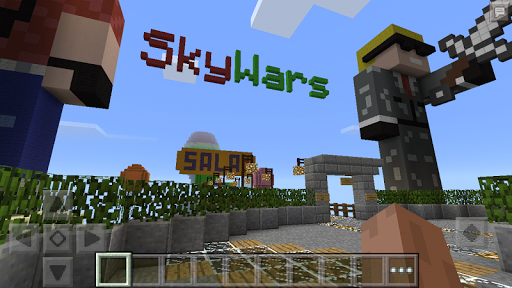 Free download Sky Wars map for Minecraft PE APK for Android