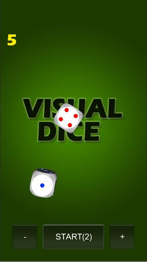 Visual dice