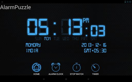 Alarm Puzzle Clock