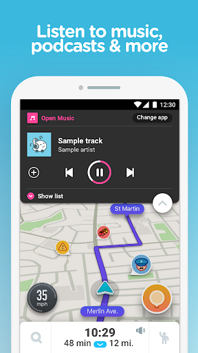 Download Waze - GPS, Maps & Traffic for android 5 1