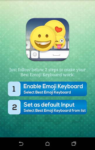Emoji keyboard for android 2.3