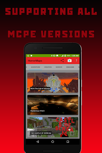 Horror Maps for Minecraft PE