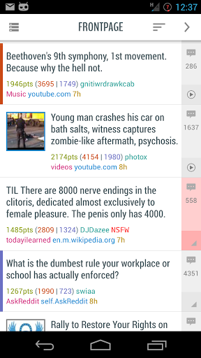 Download Flow for Reddit (Pre-Beta) for android 4 1 2