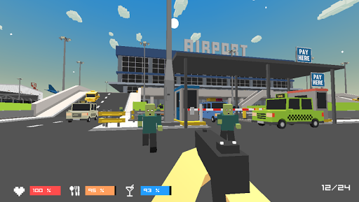 Airport City Zombies Hunter