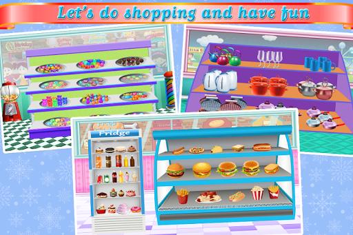 Supermarket Food Shopping