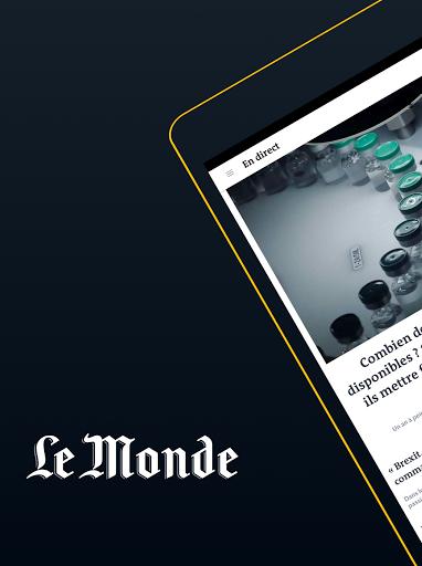 Le Monde, the continuous news