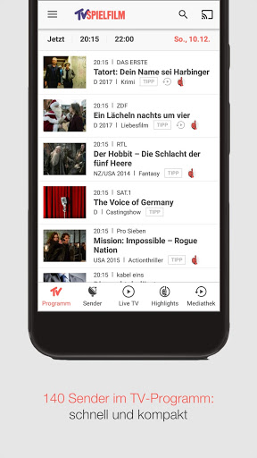 Download Tv Spielfilm Tv Programm For Android 5 0