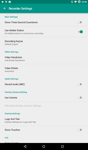 Download ADV Screen Recorder for android 4 4 2