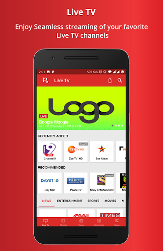 Download NET TV NEPAL for android 9 0
