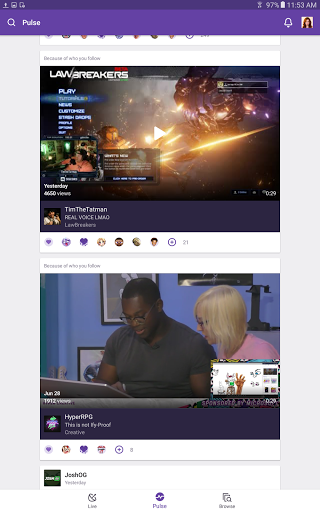 Download Twitch for android 4 0 4