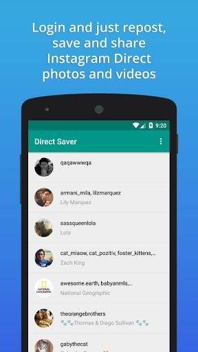 Direct Saver for Instagram DM