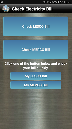 Download Check LESCO/MEPCO Bill for android 4 4 3