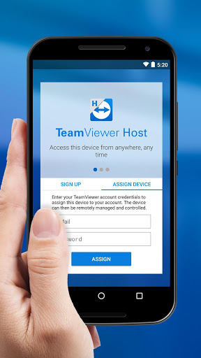 Download TeamViewer Host for android 4 4 2
