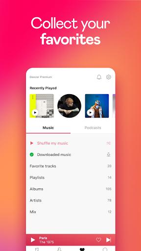 Deezer: Music & Song Streaming