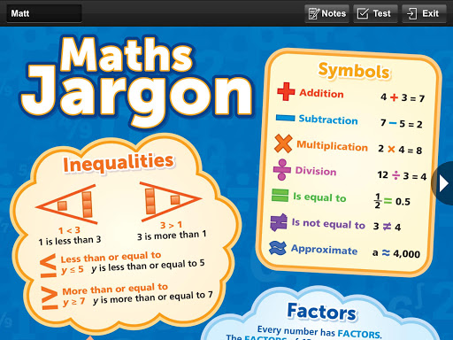 Maths Primary Pocket Poster