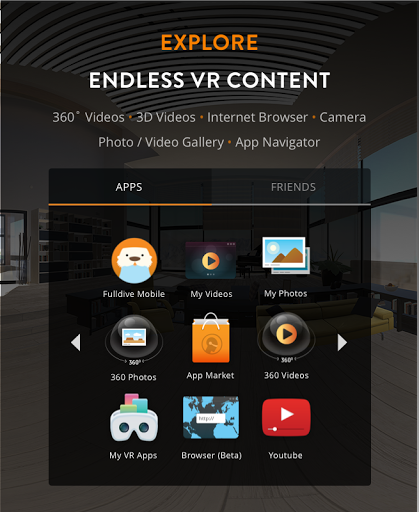 efcc7e16c7cf Download Fulldive VR - Virtual Reality for android 5.1.1