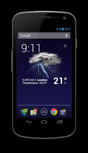 Weather & Animated Widgets
