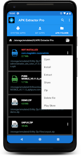 Download APK EXTRACTOR PRO for android 4 0 4
